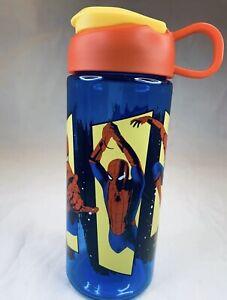 zak! Marvel Spider-Man Far From Home Plastic 16.5 oz Water Bottle