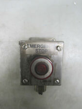 Square D Type Km1 Class 9001 Emergency Stop Withhoffman Stainless Steel Box E1pbss