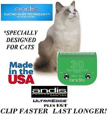 ANDIS Ultra Edge + PLUS EGT CAT Grooming 30 BLADE*Fit Many Oster,Wahl Clipper