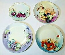 4 Antique Bavaria Hand Painted Plates *Lot of 4*