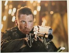 "CHRISTIAN BALE PSA SIGNED 11X14 Photo ""TERMINATOR SALVATION, BATMAN"" JSA COA"