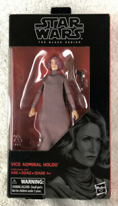 Star Wars The Black Series Vice Admiral Holdo #80