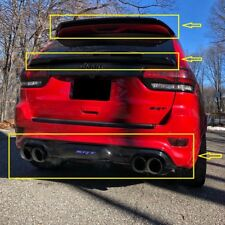 SET: Dual Pipe Diffuser & Top and Mid Spoilers for Jeep Grand Cherokee SRT8