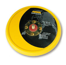 Mirka Sanding Pad Velcro 150 mm Medium without Holes for Ceros ,Ros Rotary