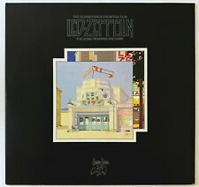 MINTY ORIGINAL LED ZEPPELIN 1975 THE SONG REMAINS LP VINYL GERMAN STRAWBERRY