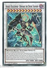 ASSALTO Blackwing-onimaru IL DIVINO THUNDER tdil-en049 YU-Gi-Oh card 1st Nuovo di zecca