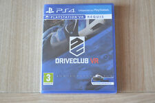 Driveclub VR , sur playstation 4, neuf , sous blister