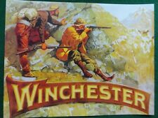 Winchester Repeating Arms Co. Advertising Poster, Frederic Remington artist