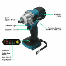 18V Impact Wrench Brushless Cordless Electric Wrench Power Tool 520N.m Torque