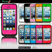 Waterproof Waterproof Shockproof Dirtproof Case Cover for Apple iPhone 5S 5G 5