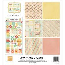 Collection Echo Park BEST FRIENDS amis kit papiers 30x30 + stickers scrapbooking