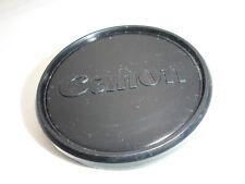 CANON 60mm front lens cap, 58mm filter size thread, slip on, Vintage #2635