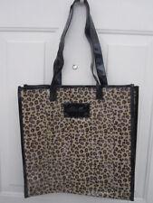Victoria's Secret Leopard Animal Print Tote Beach Shopper Bag NWOT