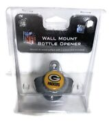 NFL Green Bay Packers Wall Mount Metal Bottle Opener New