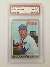 1970 Topps Baseball Randy Hundley #265 PSA Graded 8 NM-MT Cubs