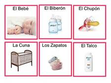 Loteria Para Baby Shower Bingo En Espanol 25 Tablas IMPRIMELAS EN CASA!!!