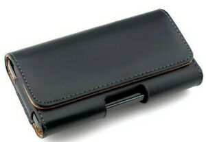 Leather Belt Clip Pouch Case Cover For HTC One X Samsung S2 S3 S4 LG Sony Phone