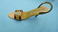 chaussure escarpin metal emaillé miniature
