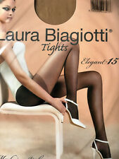 Damen Strumpfhose, Laura Biagiotti 15 den  Farbe, miele Gr.38
