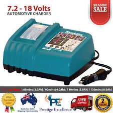 Makita DC18SE 7.2 - 18V Li-ion Automotive Car Battery Charger Vehicle Truck Boat