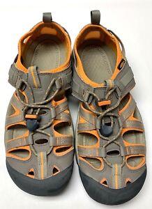 KEEN Women's TAN/ORANGE SZ 10 R H20 Walking Hiking Sport Sandal Washable Shoe
