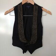 Witchery Black Studded Vest