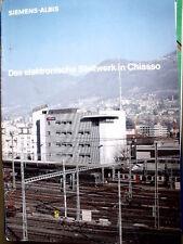 Catalogo Siemens ALBIS - Elettronica nella stazione di CHIASSO - DEU - Tr.15
