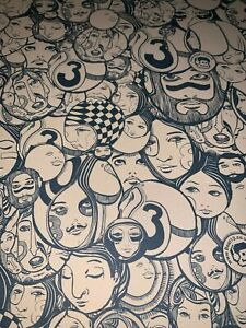 LUCY McLAUCHLAN HEADS LIMITED PRINT + BANKSY Pic