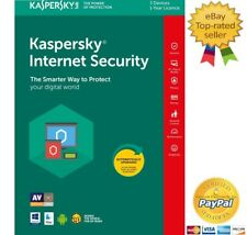 Kaspersky Internet Security 2018 3 Dispositivi PC/1Anno Digital Key-ESD-Download