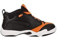 Nike Jordan Jumpman Quick 23 AH8109 008 Mens Black / Black Orange Peel-Sail