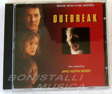 James Newton Howard - OUTBREAK - SOUNDTRACK O.S.T. - CD Nuovo Unplayed