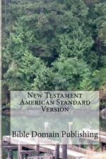 New Testament American Standard Version, Paperback by Publishing, Bible Domai...
