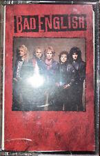 Bad English Cassette Tape