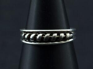 Ring Fuß Pl D' Zeh Ethnika Kajra Einstellbar aus Metall Weiß W89 8031