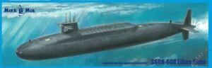 SSBN-608 Ethan Allen US balistic nuclear submarine 1:350 MikroMir 350-042