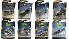 Hot Wheels DC Comics Batman FULL Set of 8 Collectable Diecast Vehicles