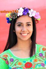 MEXICAN PAPER FLOWER CROWN CHILDREN/ADULTS HANDMADE. CORONA DE FLORES