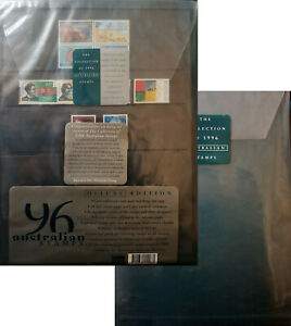 1996 Australian Stamps BRAND NEW DELUXE EDITION Year Book and stamps Unopened