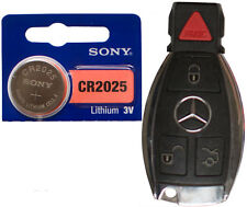 Mercedes: C250 C300 CLS63 CL600 E350 E550 Battery Sony CR2025 for Remote Key FOB
