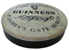 Irish Bodhran mit GUINNESS Logo, 18 x 3,5 Zoll, B-Ware