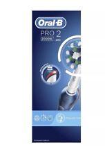 Oral-B Pro2 2000N Cepillo de Dientes Eléctrico Recargable (Nuevo Batería De Li-ion)