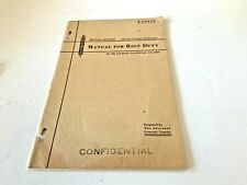 Kansas National Guard Manual for Riot Duty 1933