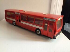 Jouets mont-blanc bus berliet rouge manque trappe à pile