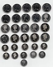More details for uk proof five pence coins 5p 1971 to 2021 - choose your year