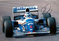 ***  NIGEL MANSELL  -  WILLIAMS / RENAULT  -  SIGNED  -  F1  *** A4 photo