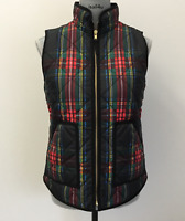 J. Crew Factory Excursion Printed Quilted Puffer Vest NWT Size: XXS-XL