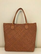 FALOR FIRENZE HAND WOVEN LEATHER TO