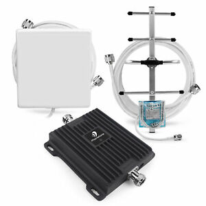 3G 4G LTE Mobile Phone 850MHz Signal Booster Band 5 Repeater Kit for Data Voice