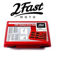 2FastMoto 10PC Flywheel Drive Puller Set Suzuki Motorcycle Flywheel Rotor