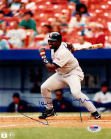 TONY GWYNN SIGNED AUTOGRAPHED 8x10 PHOTO SAN DIEGO PADRES LEGEND PSA/DNA